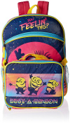 Despicable Me Girls' 41cm Backpack with Detachable Lunch Bag