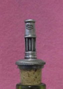 Miners Lamp Davy UK Made Pewter Bottle Stopper