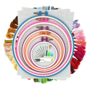 Cotton Embroidery Thread, Wartoon Cotton Embroidery Floss Sewing Thread Set for Cross Stitch