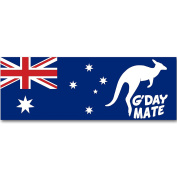 56cm Australia Day G'Day Mate Party PVC Sign Banner