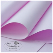 2 SHEETS OF LIGHT PINK FOAMIRAN FLOWER MAKING FOAM - 30CM X 35CM - SELECTION OF COLOURS - FREE POSTAGE