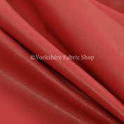 Light Weight Durable Vinyl Pink Faux Leather Upholstery Furnishing Craft Fabric