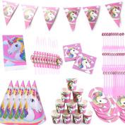 Waterstone Unicorn Fantasy Birthday Party Standard Tableware