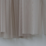 Mink Grey Brown Soft Tulle Veiling Fabric 150cm wide - Sold by the metre