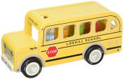 Indigo Jamm Benji Bus Wood Toy Vehicle
