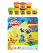 Play-Doh Disney Junior The Lion Guard Play Set + Play-Doh Rainbow Starter Pack Bundle