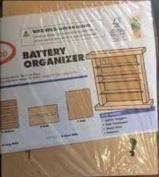 Home Depot Kids Workshop Wood Battery Organiser