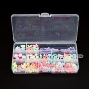 Girls Toys - DIY Necklace and Bracelet Crafts Beads Kit by Coerni