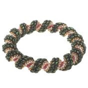 Cellini Spiral Bracelet - Christmas Wreath - Exclusive Beadaholique Jewellery Kit