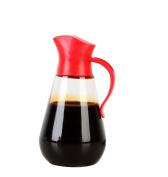 Glass Leak-proof Oil Auto Open Can Seasoning Bottle Kitchen Supplies Lecythus Soy Sauce Bottle Vinegar Pot 550ML