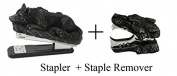 Novelty Lone Wolf Stapler and Stapler Remover Office Desktop Stationery Set