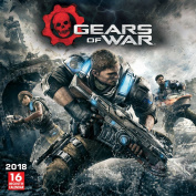 2018 Gears of War Wall Calendar, Gamers by Sellers Publishing