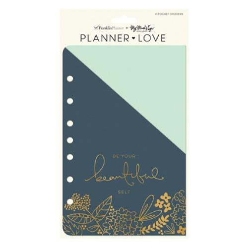 Classic Planner Love Pocket Dividers - On Trend. FranklinCov