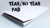 No Tear Pad (XL, 8.5 X 11, Tear/No Tear Alternating/ 50) by Alan Wong - Trick