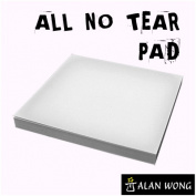 No Tear Pad (Small, 3.5 X 3.5, All No Tear) by Alan Wong - Trick