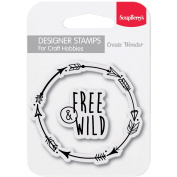 ScrapBerry's Clear Stamps 6.9cm x 6.9cm -Find Your Way
