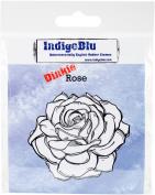 IndigoBlu Cling Mounted Stamp 7.6cm x 7.6cm -Rose