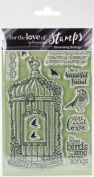 Hunkydory For The Love Of Stamps A6-Blossoming Birdcage