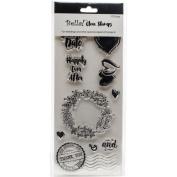 Bella! Wedding Clear Stamps 8.4cm x 18cm -true Romantic
