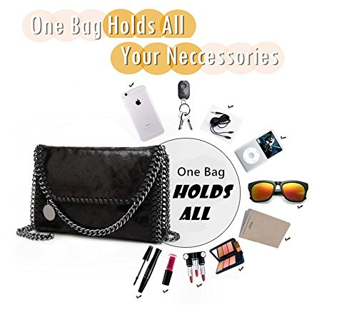bc643a8a6e KAMIERFA Metallic Cross Body Bags Designer Handbags for Women Evening  Clutch Bag PU Leather with Chain Strap by KAMIERFA - Shop Online for Bags in  New ...