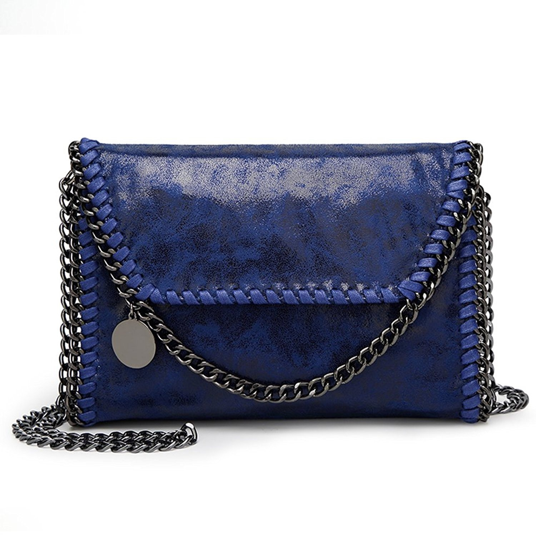 0a1e31c813 KAMIERFA Metallic Cross Body Bags Designer Handbags for Women ...