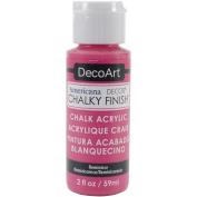 Home Décor Chalky Finish Paint, Acrylic, Reminisce, 3.3 x 3.3 x 10 cm