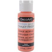Home Décor Chalky Finish Paint, Acrylic, Cherish, 3.3 x 3.3 x 10 cm