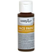 Handy Art Face Paint 60ml-Brown