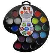 RUBY RED PAINT, INC. 16 Colour Artist's Palette