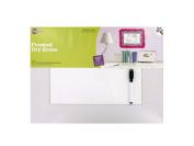 Bulk buys Framed Dry Erase Sheet & Marker Set