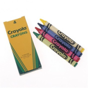 US Toy DM55X4 Crayola Crayons - 144 Per Pack - Pack of 4