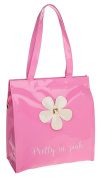 Gossip Girl - Ladies Mini, Medium, Large Patent Glossy Shopper Tote / Lunch Bag Bow / Floral / Patterned