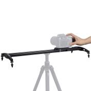 Orsda 60cm /60 centimetres Aluminium Alloy Camera Track Slider Video Stabiliser Rail with 4 Bearings for DSLR Camera DV Video Camcorder Film Photography, Load up to 7.9kg/8 kilogrammes OR140