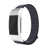 Bracelet Sisit Luxury Nylon Watch Bracelet Wrist Band Strap Soft Breathable For Fitbit Charge 2