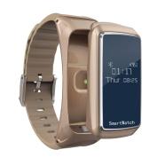 Fitness Tracker, Heart Rate Monitor Tracker, Smart Watch Bluetooth Earphone Blood Oxygen Pressure Heart Rate Monitor Pedometer