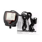 Ulable Waterproof Bicycle Bike Cycle Digital LCD Display Computer Speedometer Odometer