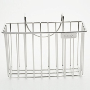 304 Stainless Steel Sink Caddy Towel Brush Soap Rack Dish Drainer Kitchen Cloth Holder