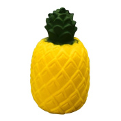 Fat.chot Soft Squishy Toy Pineapple Bun Cream Plant Slow Rising Squeeze Scented Relieves Stress Toys Home Decoration Easter Gift Phone Strap for Kids Adults