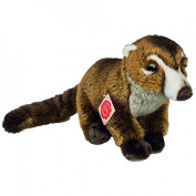 Teddy Hermann 923343 Coati Soft Toy, 29 cm