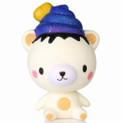 Decompression Toys Soft Toys, Exquisite Fun Q Poo Panda Scented Squishy Toy Charm Slow Rising 13cm Simulation Toy Free Slime Toy Animals Soft Toys