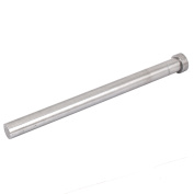 Unique Bargains 15mm Diameter Round Tip Steel Straight Ejector Pin Punch 200mm Long Silver Grey