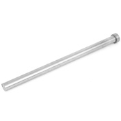 Unique Bargains 14mm Diameter Round Tip Steel Straight Ejector Pin Punch 250mm Long Silver Grey