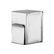 Supreminox Napkin-Card Holders, Stainless-Steel, Silver, 30 x 30 x 30 cm