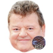 Robbie Coltrane Celebrity Mask, Card Face and Fancy Dress Mask