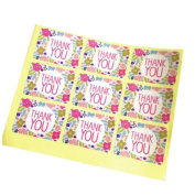 Wicemoon Sealing Stickers Wedding and Party Favour Letter Seals Gift Label Thank You Sealing Stickers