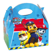 12 Paw Patrol Blue Children's Birthday Party Loot Favour Lunch Boxes