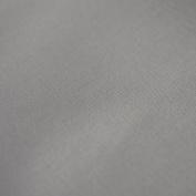 "Grey 100% High Quality Pure Cotton Canvas Fabric Medium Weight 44"" 112cm Width"