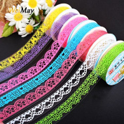 weimay Adhesive Tape Stickers Lace Design Multi-Coloured Sticker DIY Decoration