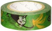 SEAL-DO Shinzi Katoh Washi Masking Tape, Mokey