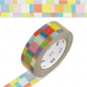 Masking Tape 15 mm Mosaic Bright x10m